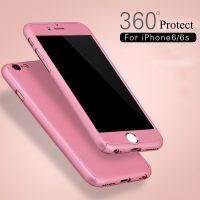 360-Degree-Front-Back-Full-Protective-Case-For-iPhone-6-6S-4-7inch-Hard-PC-Plating