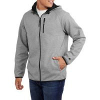 Medium Grey Heather Russel acket