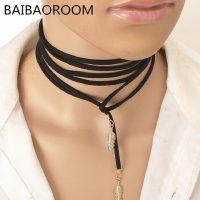 -Necklace-Women-Choker-Collar-Necklace-Velvet-Strape.(3)