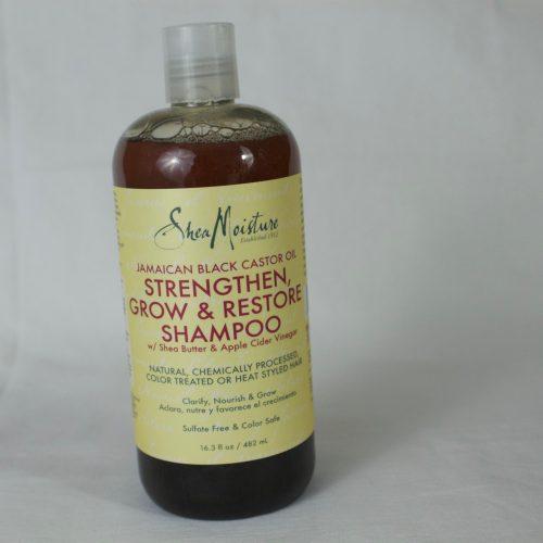 Shea Moisture JBCO strength grow & R shampoo